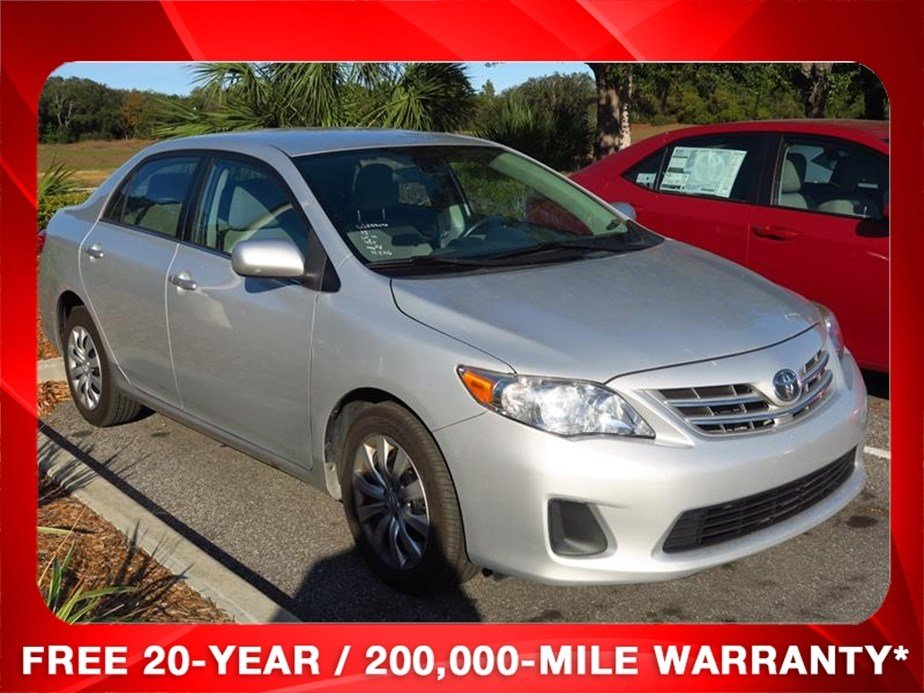 Rountree Moore Nissan >> Certified Pre-Owned 2013 Toyota Corolla LE 4D Sedan in Holiday #W329949A | Morgan Auto Group